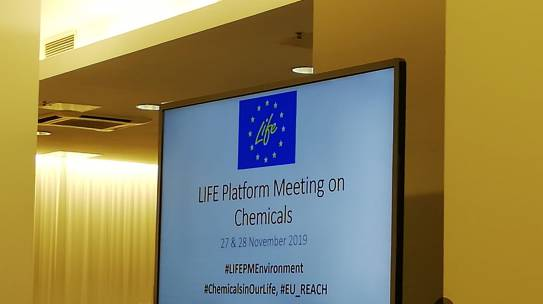 LIFE Platform meeting on Chemicals & Indicator Workshop,   28-29 November, Vilnius