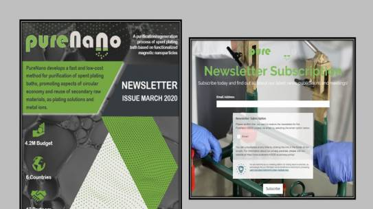 FIRST NEWSLETTER OF PURENANO