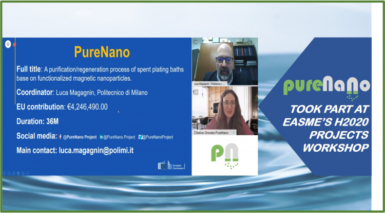 PureNano attended H2020 Workshop by EASME
