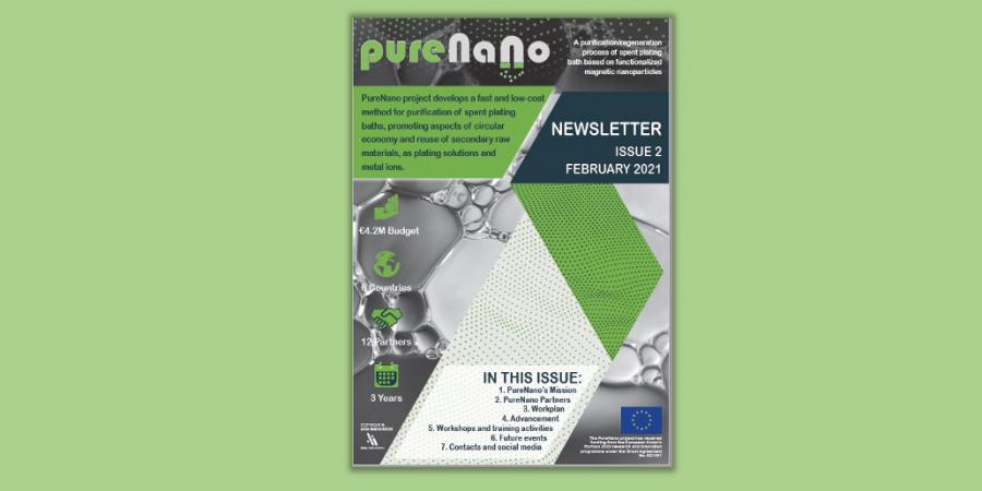 PURENANO 2nd NEWSLETTER